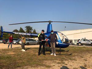 elicottero Robinson R22